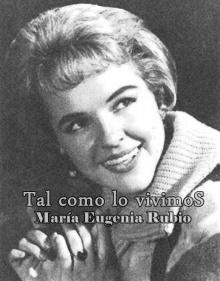 MARÍA EUGENIA RUBIO