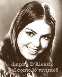LUPITA D'ALESSIO (Inicios)