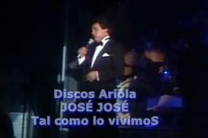 JOSÉ JOSÉ (Discos Ariola)