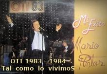 FESTIVAL OTI 1983 - 1984