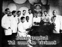 BOLEROS TROPICALES DE MI NIÑEZ